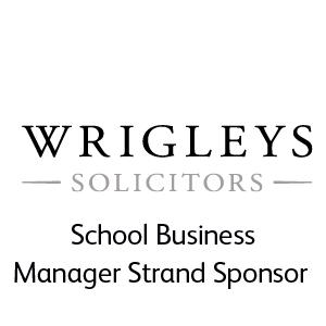 Wrigleys Solicitors - School Business Manager Strand Sponsor