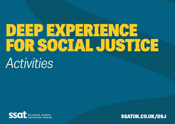 Deep Experience for Social Justice - Activities