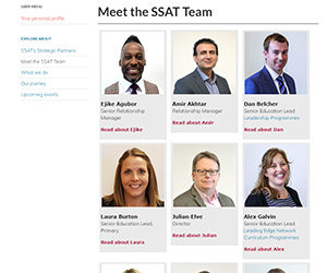 Meet the SSAT Team